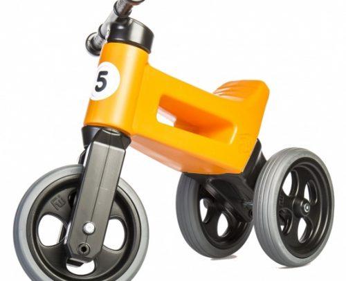 Funny Wheels - Rider Sport Cool Loopfiets Junior Oranje