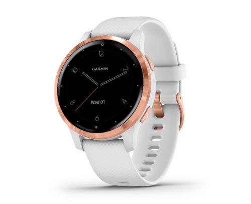 Garmin Vivoactive 4S Music Powder Grijs/Zilveren Smartwatch