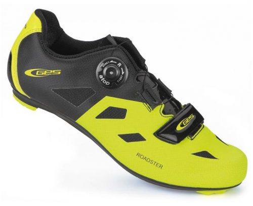 Ges Roadster Fietsschoenen - Geel/Zwart