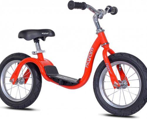 Kazam - Neo V2s Balance Bike Loopfiets 12 Inch Junior Rood