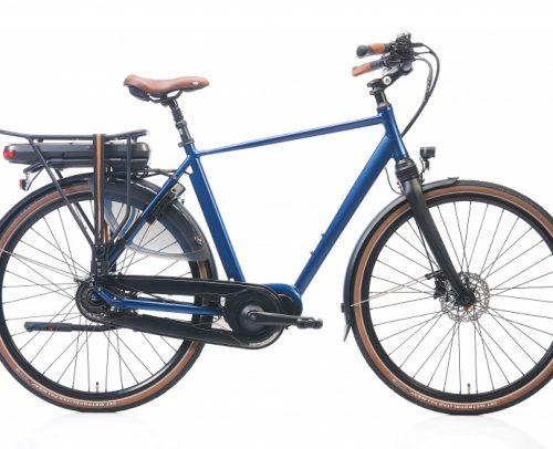 Kohlman - Deluxe 28 Inch 54 Cm Heren 8v Hydraulische Schijfrem Blauw