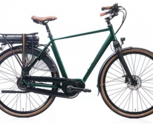 Kohlman - Deluxe 28 Inch 57 Cm Heren 8v Hydraulische Schijfrem Groen