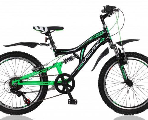 Magic - Cascade 20 Inch 35 Cm Jongens 6v V-brakes Zwart/groen
