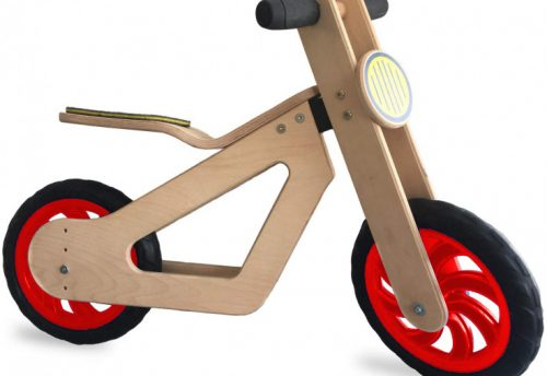 Mamatoyz - Loopfiets Balance Junior Naturel