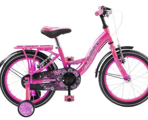 Mickeybike - Mickeybike 16 Inch 27 Cm Meisjes V-brake Roze