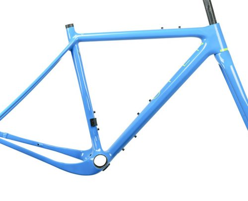OPEN New U.P. Gravel Frameset - Blauw