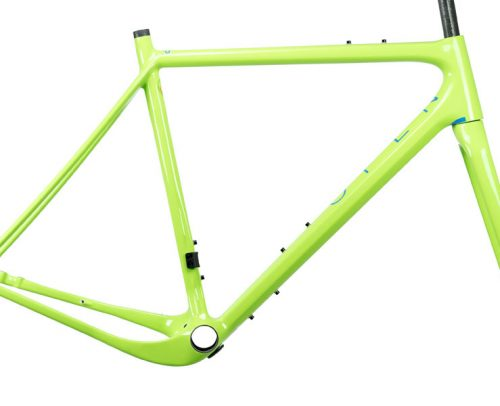 OPEN New U.P. Gravel Frameset - Groen