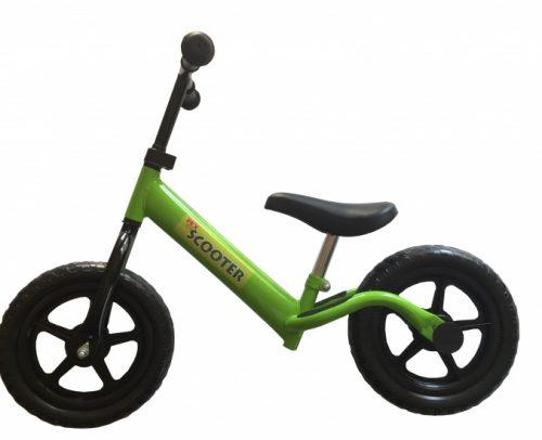 Pexkids - Kinder Scooter Loopfiets 12 Inch Jongens Groen
