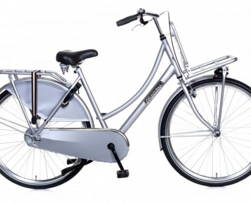 Popal - Daily Dutch Basic 28 Inch 57 Cm Dames V-brakes Zilver