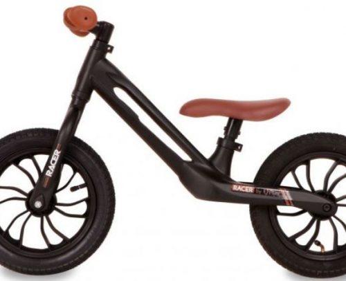 Qplay - Balance Bike Racer 12 Inch Junior Zwart