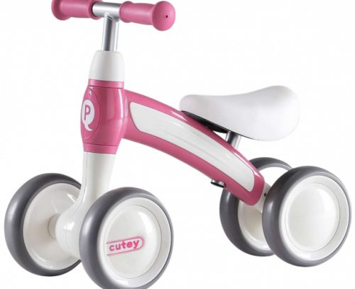 Qplay - Cutey Ride On Junior Roze/wit