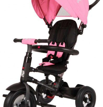 Qplay - Rito Air Deluxe Meisjes Zwart/roze