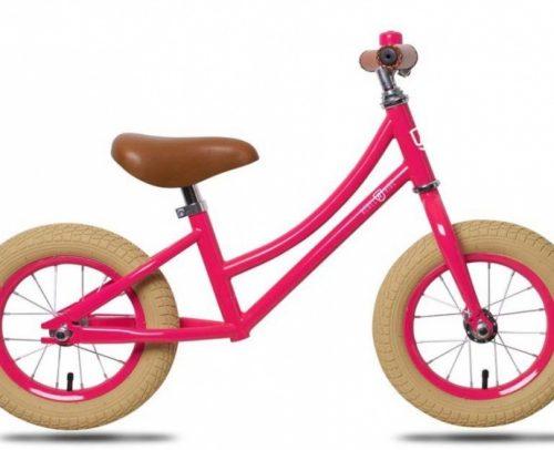 Rebel Kids - Loopfiets Julia 12 Inch Meisjes Roze