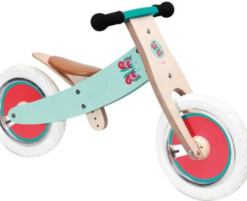 Scratch - Balance Bike 12 Inch Meisjes Turquoise