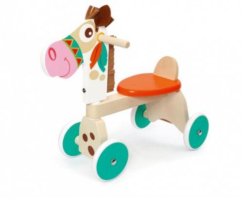 Scratch - Loopfiets Paard Junior Multicolor