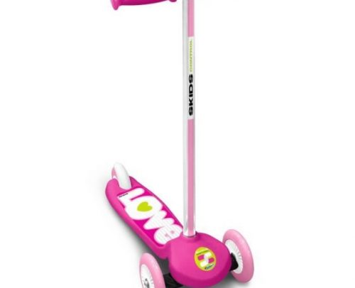 Skids Control - Kinderstep Meisjes Voetrem Roze