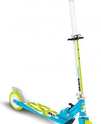 Skids Control - Vouwstep Junior Voetrem Lichtblauw/lichtgroen