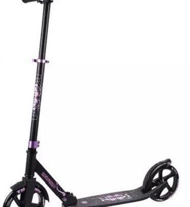 Tempish - Step Nixin 200 Inklapbaar Aluminium Zwart/roze