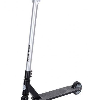 Tempish - Xbd 110 Stuntstep Junior Voetrem Zwart/zilver