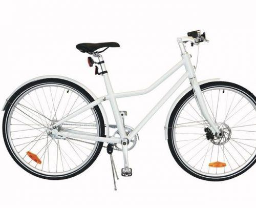 Tom - City Bike Deluxe 26 Inch 45 Cm Unisex 2v Terugtraprem Wit