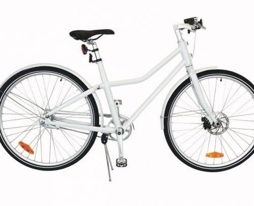 Tom - City Bike Deluxe 28 Inch 48 Cm Unisex 2v Terugtraprem Wit