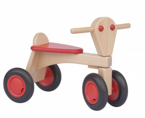 Van Dijk Toys - Houten Loopfiets Junior Rood
