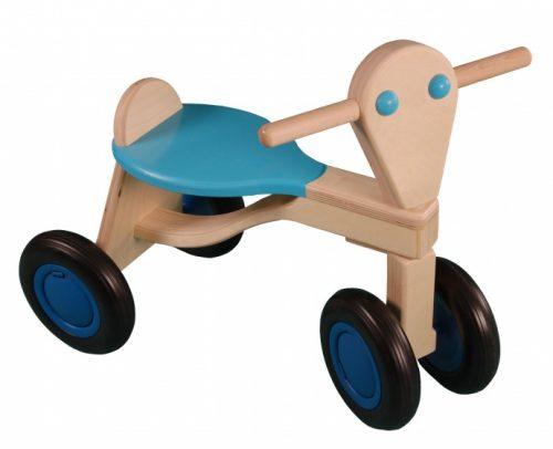 Van Dijk Toys - Loopfiets Berken Junior Lichtblauw