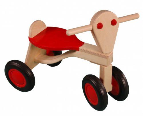Van Dijk Toys - Loopfiets Berken Junior Rood