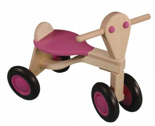 Van Dijk Toys - Loopfiets Berken Junior Roze