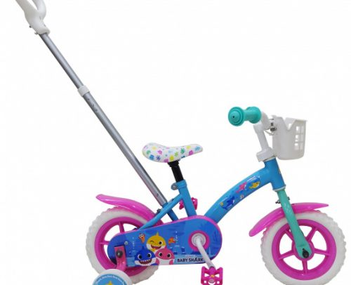 Volare - Baby Shark 10 Inch 18 Cm Junior Doortrapper Blauw/roze