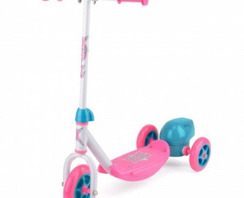 Xootz - 3-wiel Kinderstep Bubble Scooter Meisjes Voetrem Roze