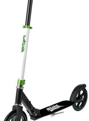 Xootz - Xoo Large Wheeled Stuntstep Junior Voetrem Wit/zwart